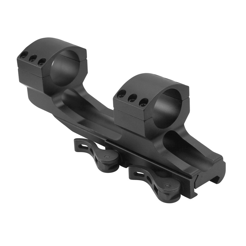 ArmourTac 1 Inch Riflescope Picatinny QD Mount Rings (Quick Detach)