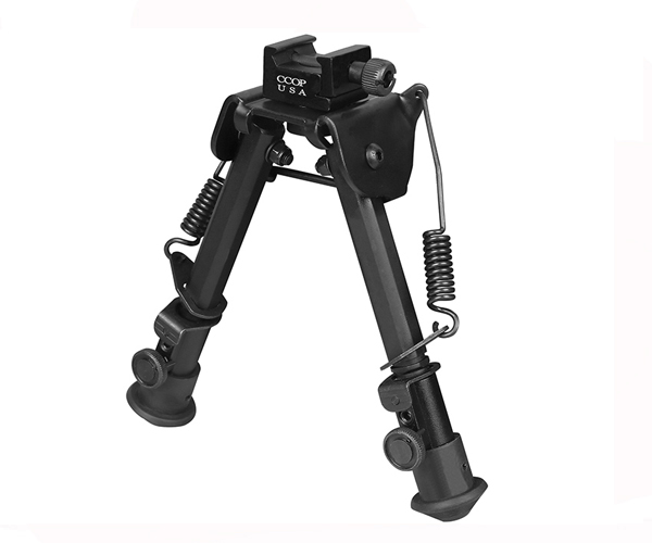 "6.3""-7.68"" Tactical Bipods with spring tension control BP-79S"
