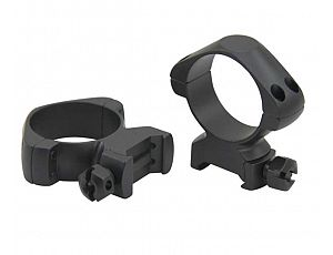 36mm Steel Ring with tactical nuts (Picatinny/weaver)  ,Low